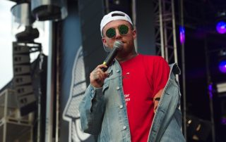 Mac Miller performing at Splash Festival 2017